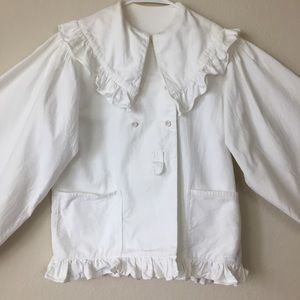 Vintage White Coat